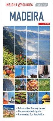 bokomslag Madeira Flexi Map