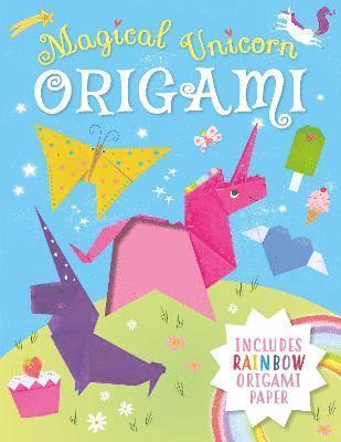 Magical Unicorn Origami 1