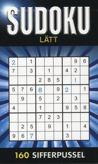 bokomslag Sudoku Lätt Blå