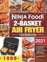 bokomslag Ninja Foodi 2-Basket Air Fryer Cookbook