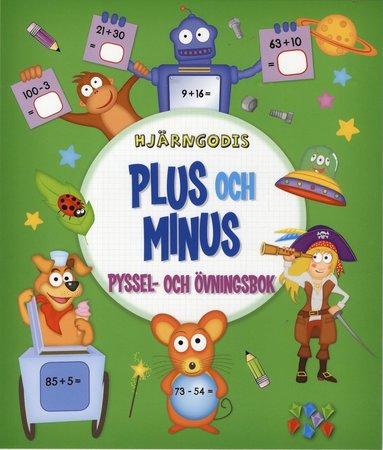 bokomslag Hjärngodis - Plus och minus