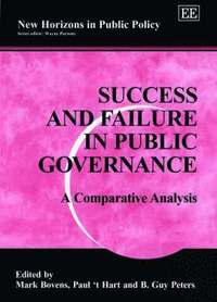 bokomslag Success and Failure in Public Governance