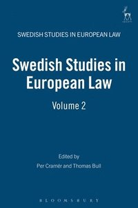 bokomslag Swedish Studies in European Law