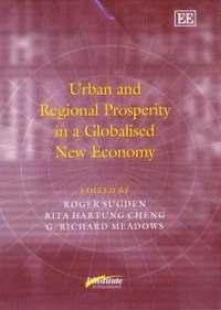 bokomslag Urban and Regional Prosperity in a Globalised New Economy
