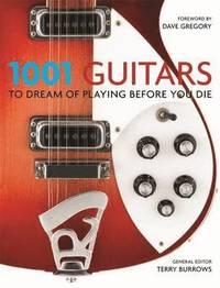 bokomslag 1001 guitars to dream of playing before you die