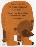 bokomslag Brown Bear, Brown Bear, What Do You See? In Albanian and English