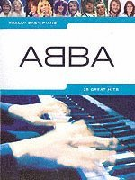 bokomslag Really easy piano ABBA PF BK