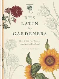 bokomslag RHS Latin for Gardeners