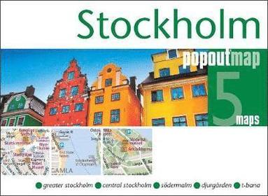 bokomslag Stockholm Popout Map