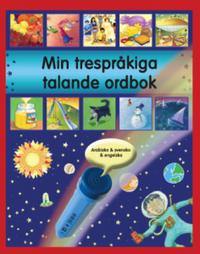 bokomslag Min trespråkiga talande ordbok : arabiska, svenska och engelska