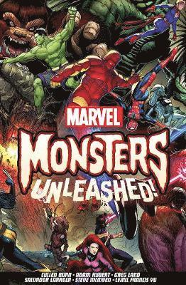 bokomslag Monsters unleashed!