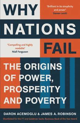 bokomslag Why Nations Fail: The Origins of Power, Prosperity and Poverty