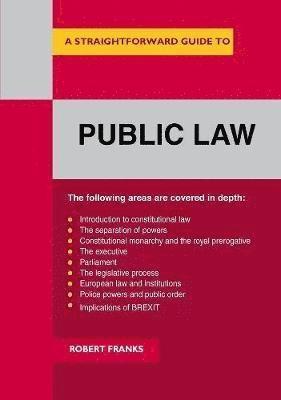 bokomslag Public law