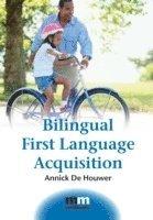 bokomslag Bilingual first language acquisition