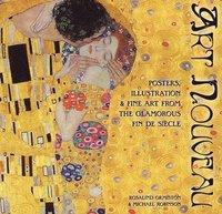 bokomslag Art Nouveau: Posters, Illustration & Fine Art from the Glamorous Fin De Siecle
