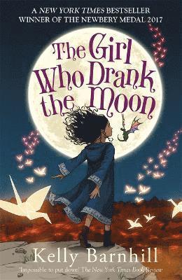 bokomslag Girl who drank the moon