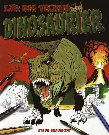 bokomslag Lär dig teckna dinosaurier