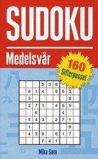 bokomslag Sudoku Medelsvår 160 sifferpussel