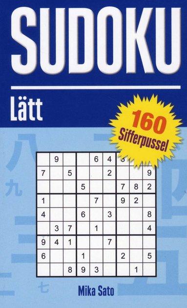 bokomslag Sudoku Lätt - Blå