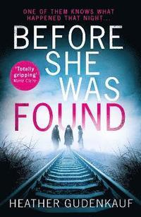 bokomslag Before She Was Found