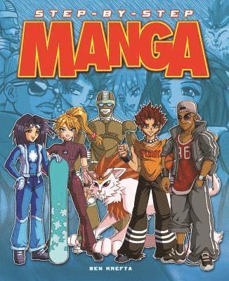 bokomslag Drawing manga: step-by-step