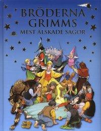 bokomslag Bröderna Grimms mest älskade sagor