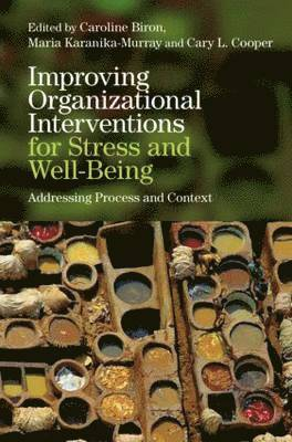 bokomslag Improving Organizational Interventions for Stress and Well-Being: Addressing Process and Context