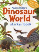 bokomslag Dinosaur World Sticker Book
