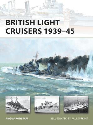 bokomslag British Light Cruisers 1939-45