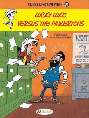 bokomslag Lucky Luke 31 - Lucky Luke Versus the Pinkertons