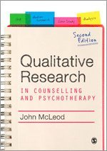 bokomslag Qualitative Research in Counselling and Psychotherapy