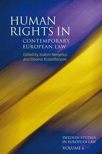 bokomslag Human Rights in Contemporary European Law