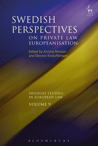 bokomslag Swedish Perspectives on Private Law Europeanisation