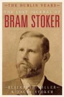 bokomslag The Lost Journal of Bram Stoker