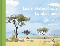 bokomslag Learn Watercolour Landscapes Quickly