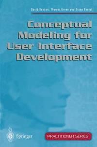 bokomslag Conceptual Modeling for User Interface Development
