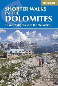 bokomslag Shorter walks in the dolomites