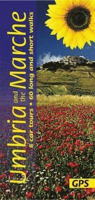 bokomslag Umbria and the Marche: 8 Car Tours, 60 Long and Short Walks