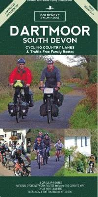 bokomslag Dartmoor south devon cycling country lanes & traffic-free family routes