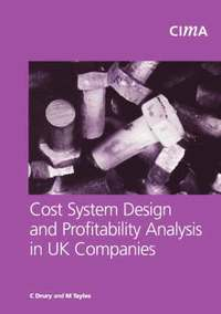 bokomslag Cost System Design and Profitabillity Analysis in UK Companies