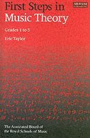 bokomslag First steps in music theory - grades 1-5