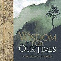 bokomslag Wisdom for Our Times