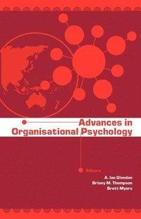 bokomslag Advances in Organisational Psychology