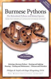 bokomslag Burmese Pythons