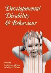 bokomslag Developmental Disability and Behaviour