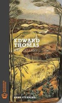 bokomslag Edward thomas - a miscellany
