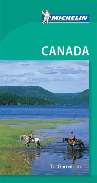 bokomslag Canada Green Guide Michelin