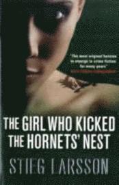 bokomslag The Girl Who Kicked the Hornets' Nest