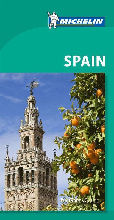 bokomslag Spain Green Guide Michelin