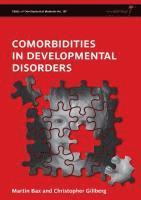 bokomslag Comorbidities in Developmental Disorders